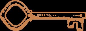 The Copper Key Icon