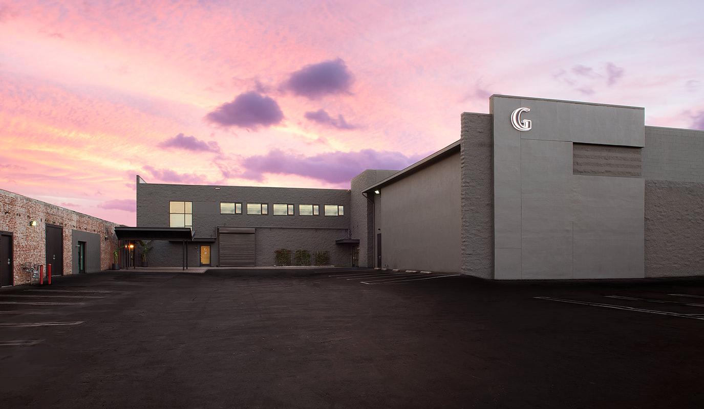 Exterior of exclusive premium venue - Goya, partner of The Copper Key