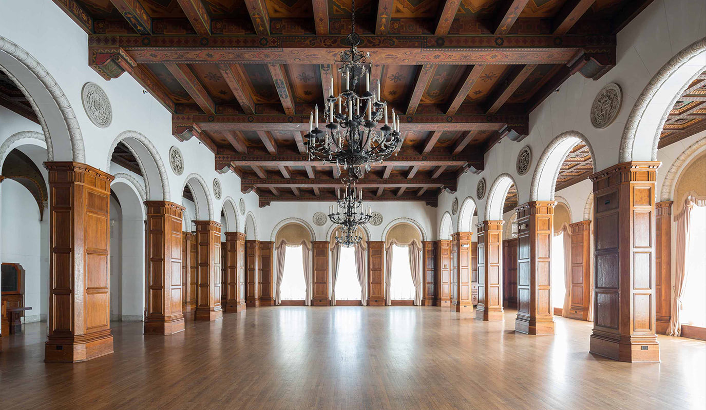 The MacArthur ballroom space in Los Angeles California